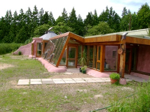 Earthship in Brighton