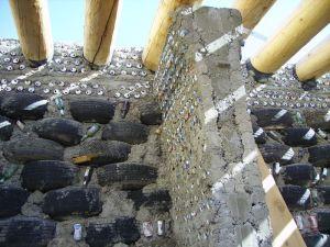 Rammed tire walls